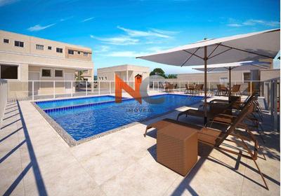 Apartamento Com 2 Dorms, Três Pontes, Itaboraí - R$ 133 Mil, Cod: 695 - V695