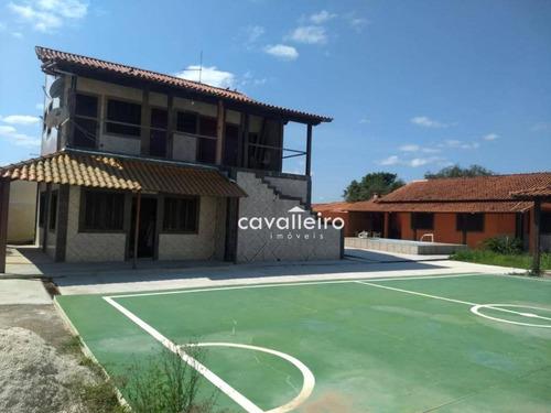 Casa Com 8 Dormitórios À Venda, 387 M² - Jardim Atlântico Central (itaipuaçu) - Maricá/rj - Ca3797