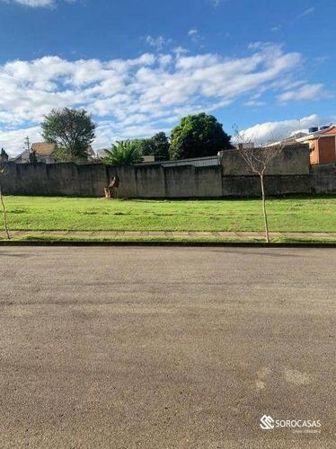 Imagem 1 de 1 de Terreno À Venda, 401 M² Por R$ 900.000,00 - Condomínio Millenium - Sorocaba/sp - Te1084