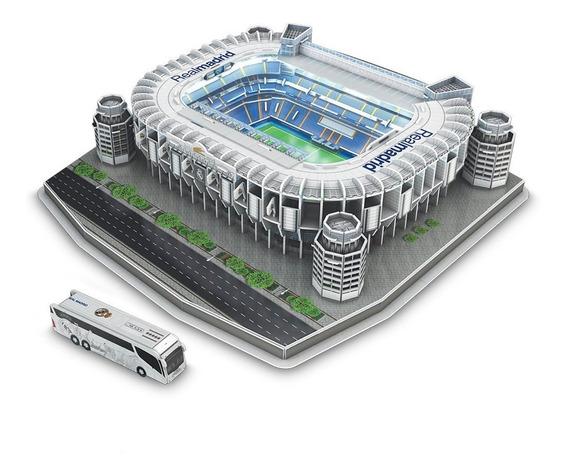 Rompecabezas 3d Estadio Santiago Bernabeu Real Madrid Nanost