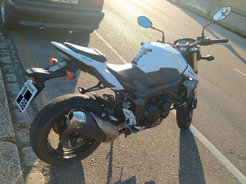 Moto Suzuki Gsr 750 2015/2016 Branca 5500 Kms