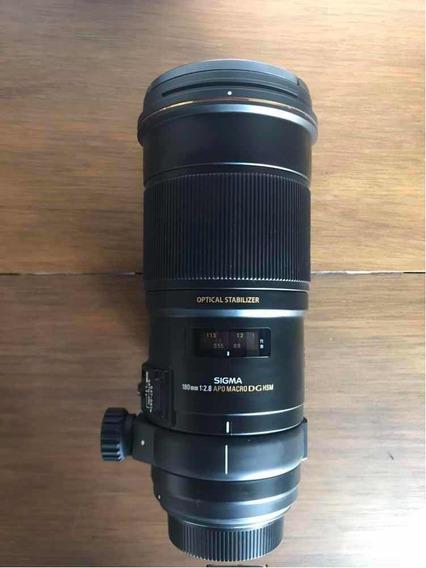 Lente Sigma 180mm F/2.8 Apo Macro Ex Dg Os Para Canon