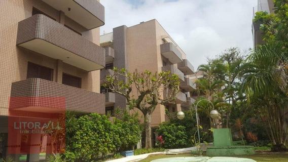 Apartamento Com 3 Dormitórios Para Alugar, 97 M² Por R$ 800/dia - Jardim Belas Artes - Itanhaém/sp - Ap0280