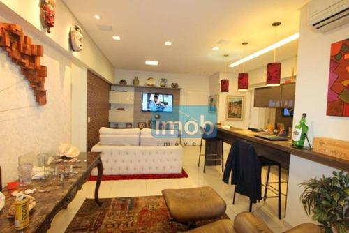 Imagem 1 de 19 de Apartamento Com 2 Dormitórios À Venda, 110 M² Por R$ 1.150.000,00 - Gonzaga - Santos/sp - Ap5864