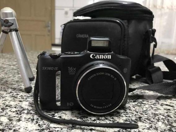 Câmera Semiprofissional Canon Sx160 Is