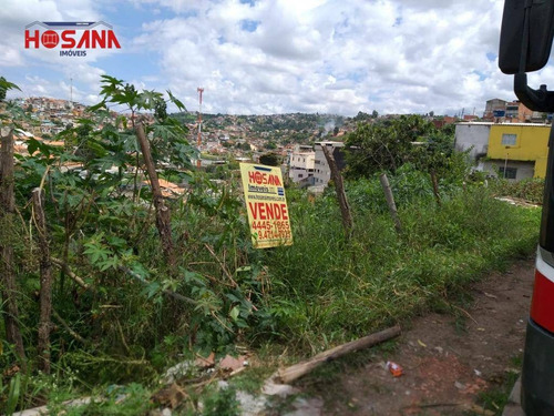 Terreno À Venda, 258 M² Por R$ 90.000,00 - Jardim Nova Esperança - Francisco Morato/sp - Te0406