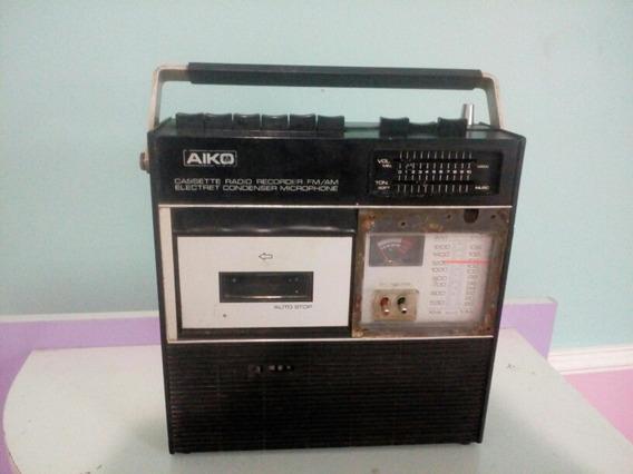 Rádio Cassete Portátil Aiko Barato.