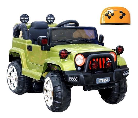 Mini Jipe 12v Elétrico 3x1 Veículo C. Remoto Mp3 Luz Glee S8