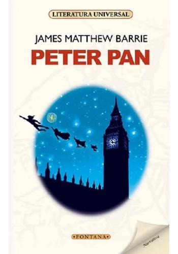Libro. Peter Pan.henry James. Clásicos Fontana.