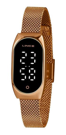 Relógio Lince Led Ldr4642l Pxrx
