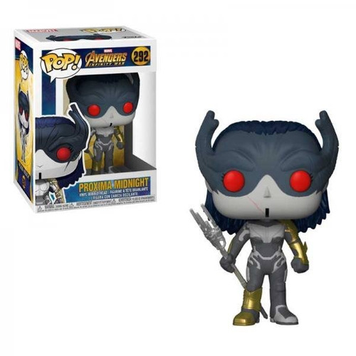 Funko Pop Proxima Midnight 292 Avengers Infinity War Marvel