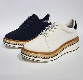 Zapato Dama Plataforma / Negro-beige