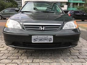 Honda Civic, 2003 Lx 1.7 Mec 4p, 50.500 Km, Único Dono