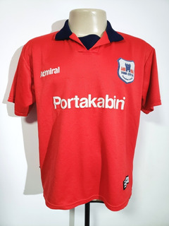 Camisa Oficial York City Inglaterra 2000 Home Admiral Tam M
