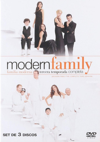Modern Family Familia Moderna Tercera Temporada 3 Tres Dvd