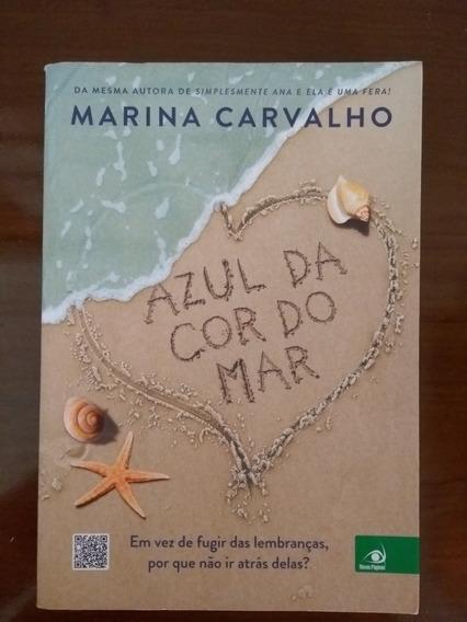 Livro Azul Da Cor Do Mar