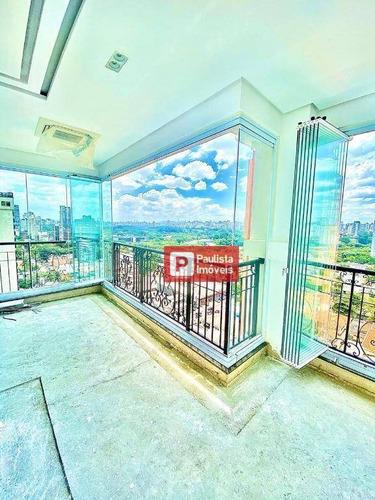 Apartamento Com 4 Dormitórios À Venda, 400 M² - Moema - São Paulo/sp - Ap29435