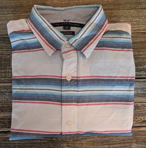 90a6255a7f10 Camisa Manga Larga Tommy Hilfiger - Ropa y Accesorios - Mercado ...