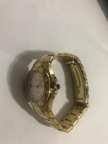 Seiko Feminimo Dourado Made In Japan Seiko Gold