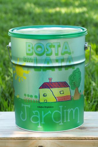 Fertilizante Orgânico Bosta Em Lata Jardim - 16 Kg