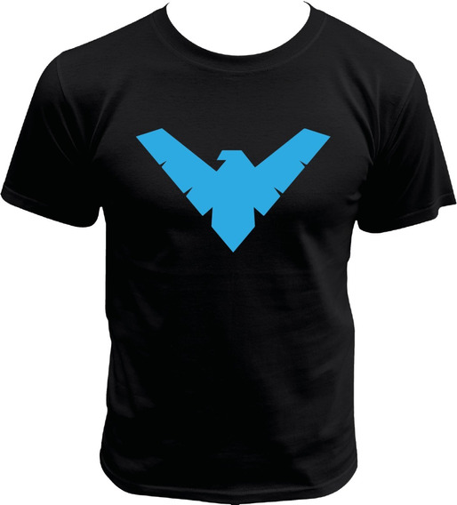 Playera De Justice League Nightwing Dc Comics