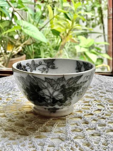 Imagen 1 de 8 de Antiguo Bowl De Loza Francesa Sarreguemines