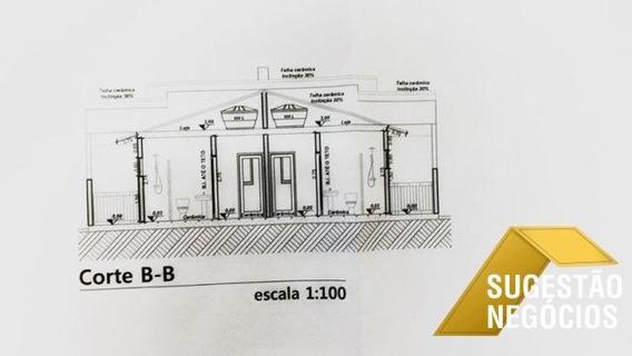 Casa Térrea Estilo Moderno Lindo Projeto - 2653