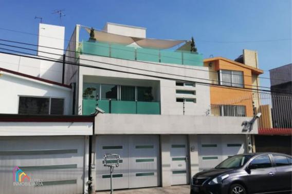 Hermosa Casa En Venta. Torrecillas 27, Villa Quietud, Coyoacán.