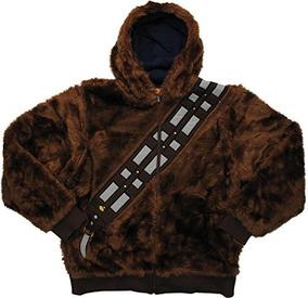 Star Wars Chewbacca Han Solo Sudadera Con Capucha Reversible