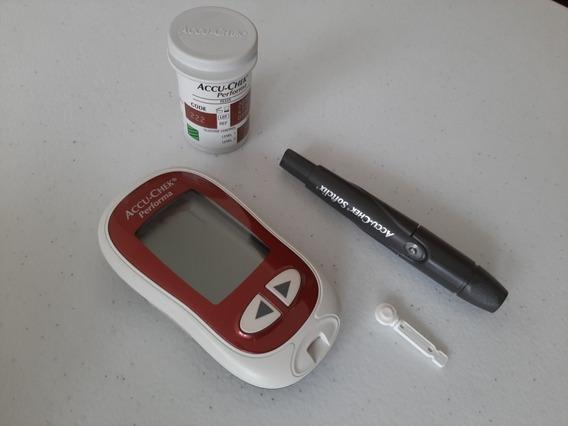Glucómetro Accu-chek Performa Kit Con Estuche