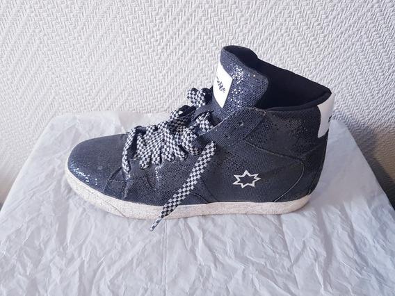 Zapatillas Caña Alta Negro