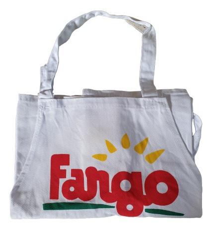 Delantal De Cocina Lona Gabardina Publicidad De Fargo