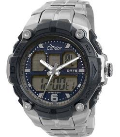 Relógio Condor Masculino Anadigi Esportivo Coad0912/3p