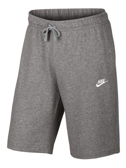 Bermuda Moletom Nike Jersey Club Reta Masculina