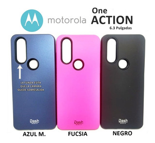 Funda Rigida Protege La Camara Motorola One Action Rosario