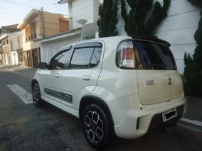 Fiat Uno 1.4 Sporting Flex 4p 2015 Branco Completo