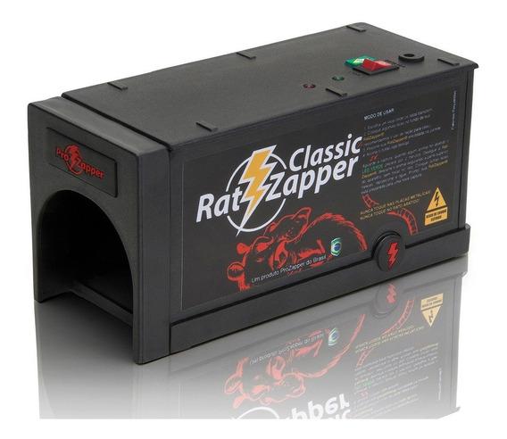 Ratoeira Elétrica Gaiola Ratzapper Classic - Original
