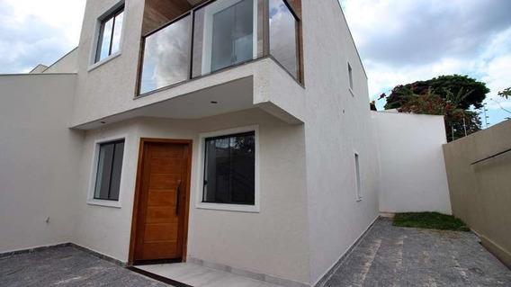 Casa Geminada Com 3 Quartos Para Comprar No Santa Mônica Em Belo Horizonte/mg - 3537