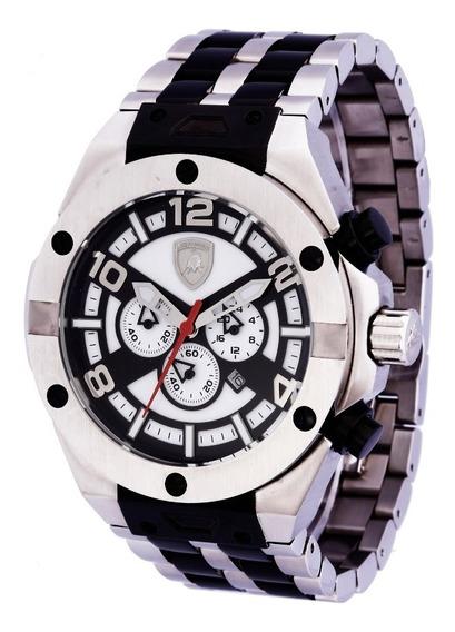 Relógio Masculino Lamborghini Murciélago Lb90053654m