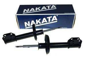 Kit 2 Amortiguadores Delantero Nakata Vw Vw Fox Suran