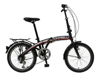 Bicicleta Plegable Tomaselli R20 7 Vel. Shimano