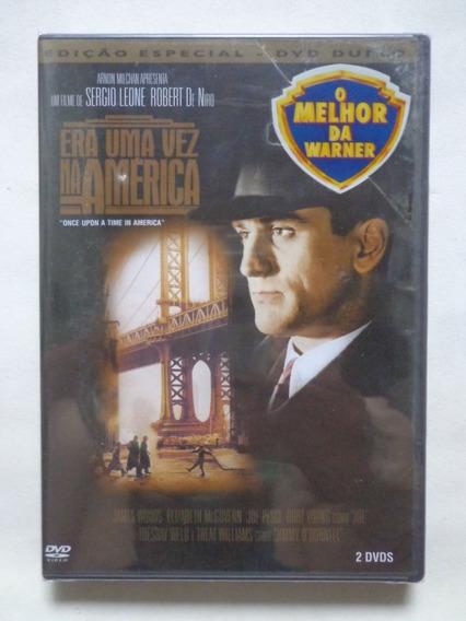 Era Uma Vez Na América - Edição Especial (dvd Duplo) Lacrado
