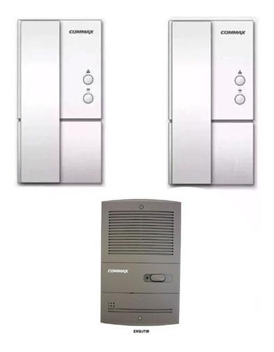 Portero Electrico Commax 2 Telefono Dp 2s Frente Embutir