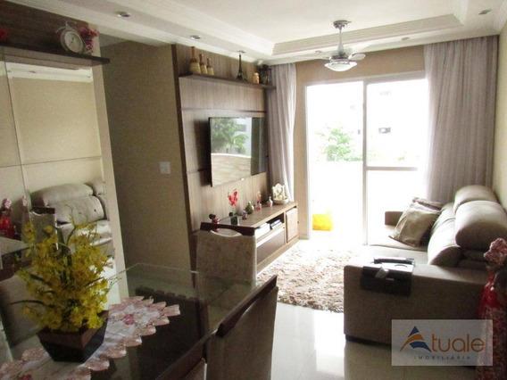 Apartamento Com 2 Dormitórios À Venda, 57 M² Por R$ 260.000 - Parque Camélias - Campinas/sp - Ap5960