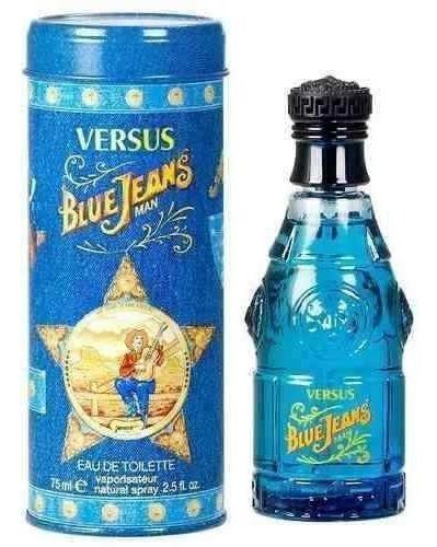 Imagen 1 de 2 de Blue Jeans Caballero 75 Ml Versace Spray - Original