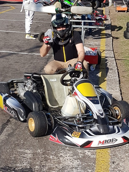 Kart M101 Rotax 125 2t Se Uso Como Hobbie Impecable