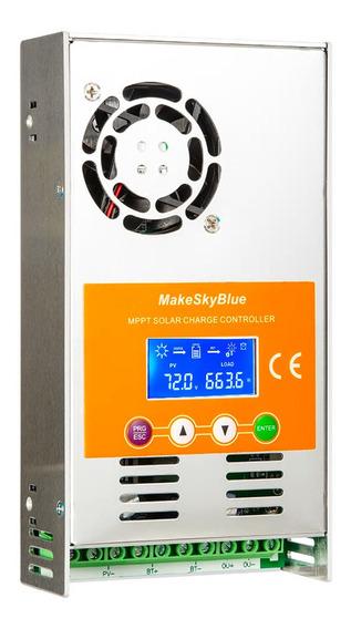 Controlador De Carga Mppt 60a Energia Solar Makeskyblue V118