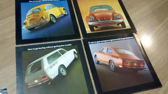 Kit Folder Vw 1974 Fusca Variant Kombi Tl Picape Original