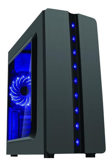 Gabinete Gamer K-mex Cg-04r8 Baia Lateral Transparente