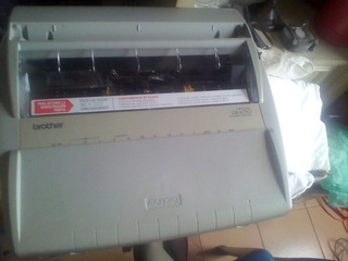 Maquina De Escribir Brother Gx6750